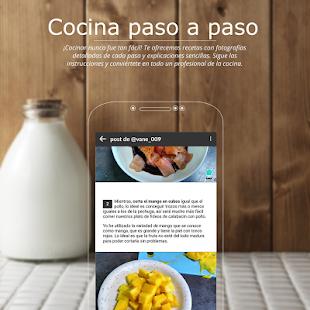 App Recetas de cocina gratis – Tu comunidad de cocina APK for Windows Phone