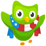 Learn English with Duolingo Icon