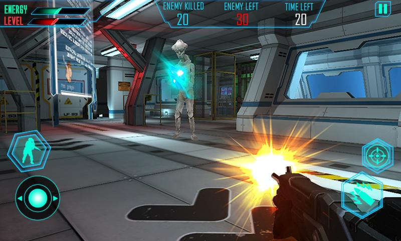 Alien Space Shooter 3D Screenshot
