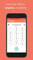 Screenshot of FooCall - low cost calls