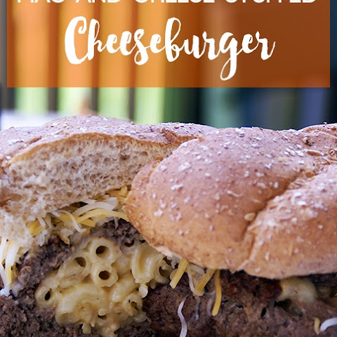 Mac And Cheese Stuffed Cheeseburger