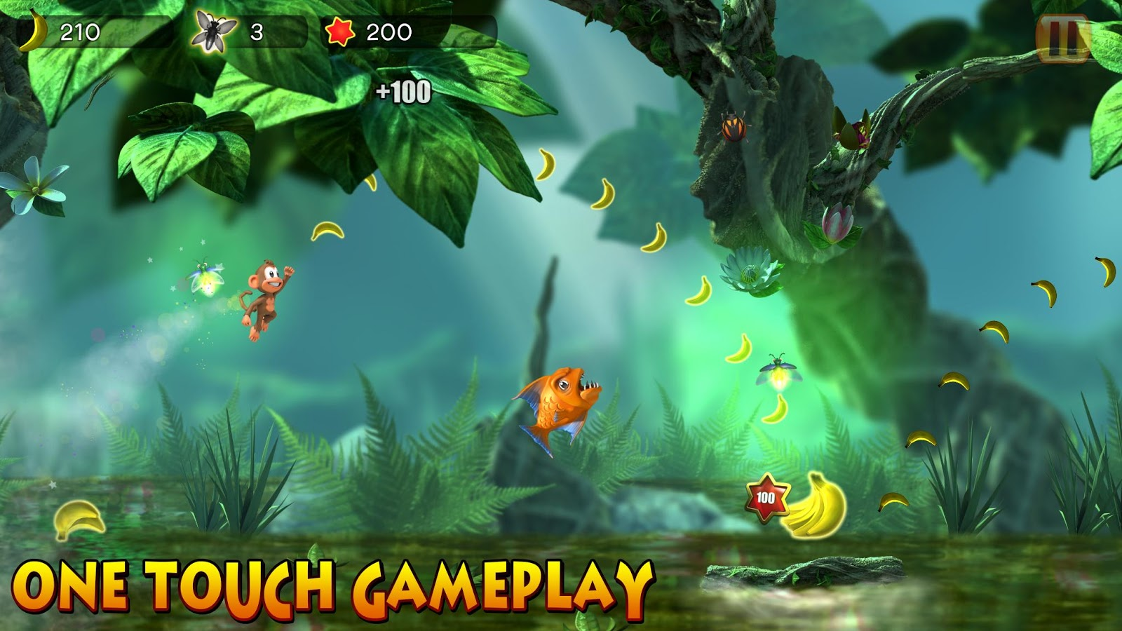 Chimpact Run (Pay Once No-IAP) Screenshot 0