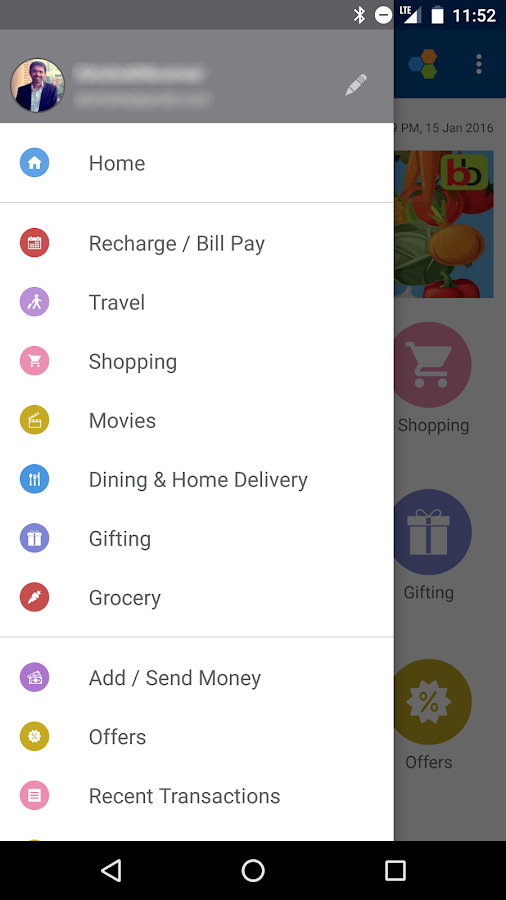 Recharge, Pay Bills & Shop Screenshot 3