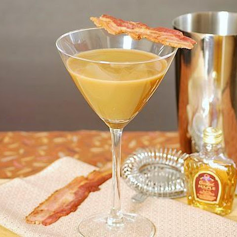 Bacon, Coffee & Maple Whiskey Martini