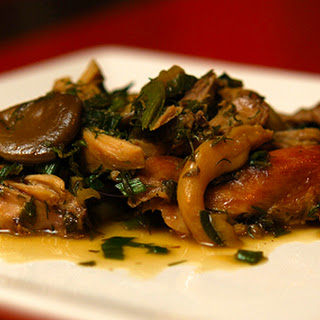 Winter into Spring, a Braised Rabbit Dish