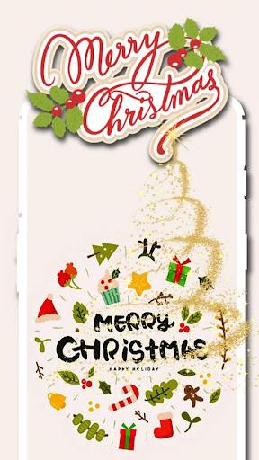 Christmas backgrounds - Santa Claus wallpapers screenshot 2