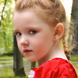 Keeping Secrets by Cheryl Korotky - Babies & Children Child Portraits