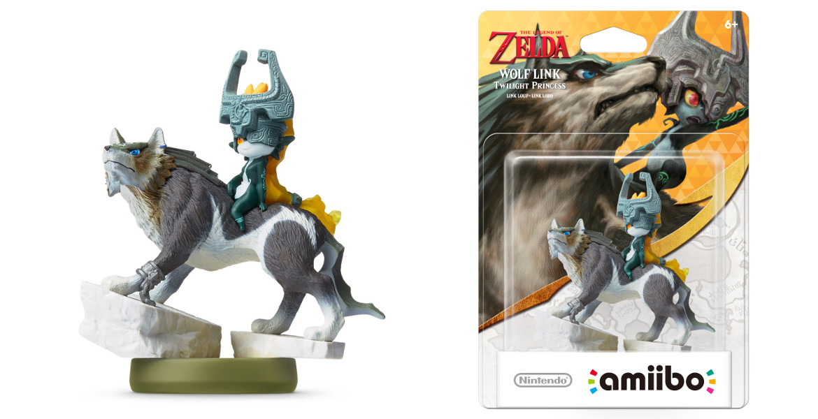 Wolf Link Amiibo to Be Released With Twilight Princess HD