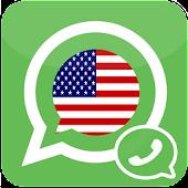US Number For WhatApp - prank