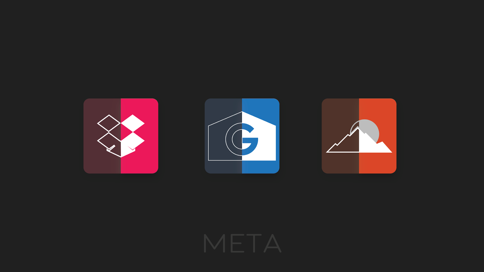 Meta Iconpack Beta Screenshot 5