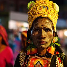 Bahurupi by Soumya Sengupta - People Musicians & Entertainers ( portrait )