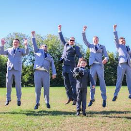 Groomsmen Can Jump! by Kathy Suttles - Wedding Groups