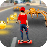 Hoverboard Racing Spider Attack on PC / Windows 7.8.10 & MAC