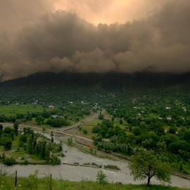 preprartion for major catastrophy by Partha P Mondal - Landscapes Weather