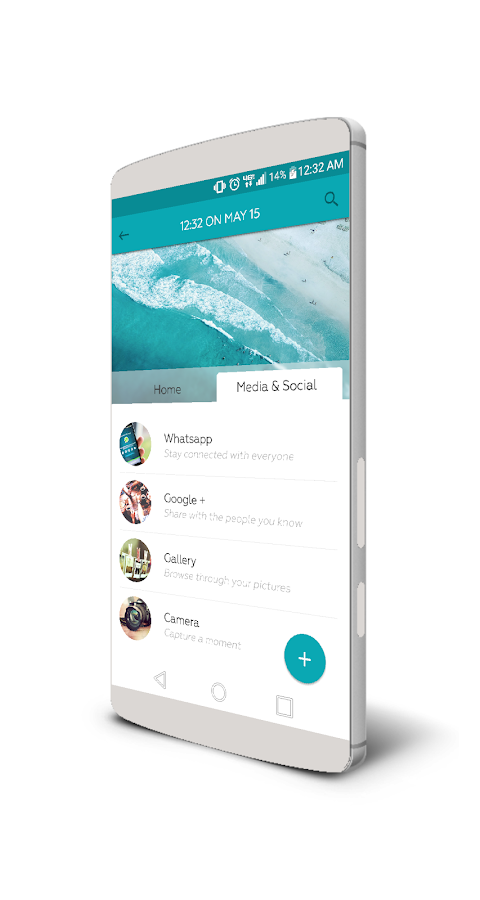 TabsHome for KLWP Screenshot 1