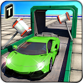 Game Extreme Car Stunts 3D version 2015 APK