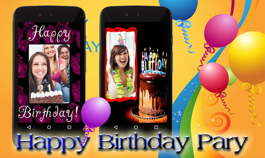 Birthday Wishes Frame Cards - screenshot