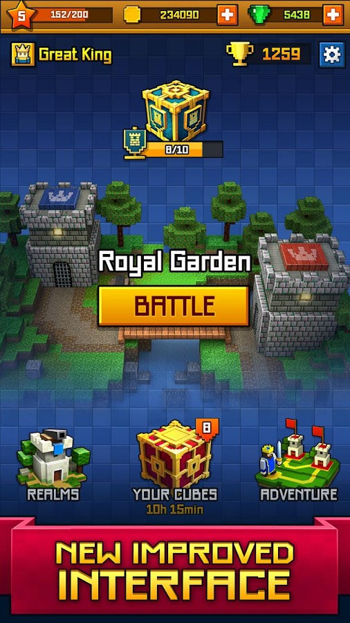 Craft Royale - Clash of Pixels Screenshot 4