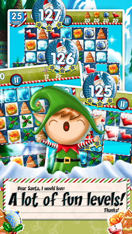 android Xmas Swipe Screenshot 2