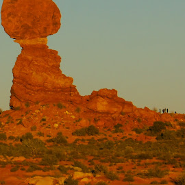 Balanced Rock by Brian Nipe - Landscapes Caves & Formations