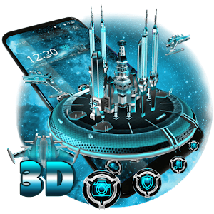 3D Space Galaxy Theme For PC