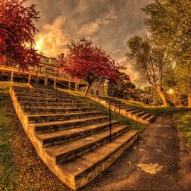 by Otto Mercik - City,  Street & Park  City Parks