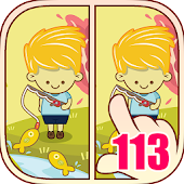 Game Find Differences 113 APK for Kindle
