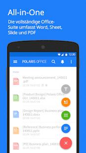 Polaris Office - Word, Docs, Sheets + PDF Reader – Miniaturansicht des Screenshots