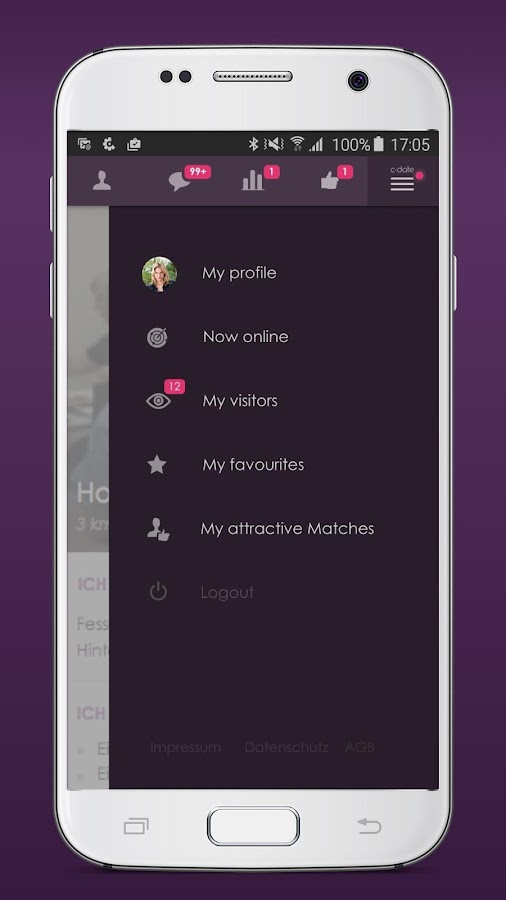 C-Date – Dating with live chat Screenshot 4