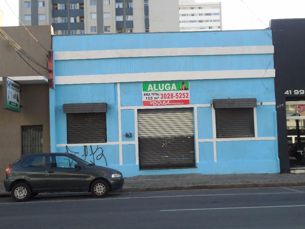 lojas para alugar em curitiba centro