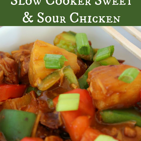 Slow Cooker Sweet and Sour Chicken