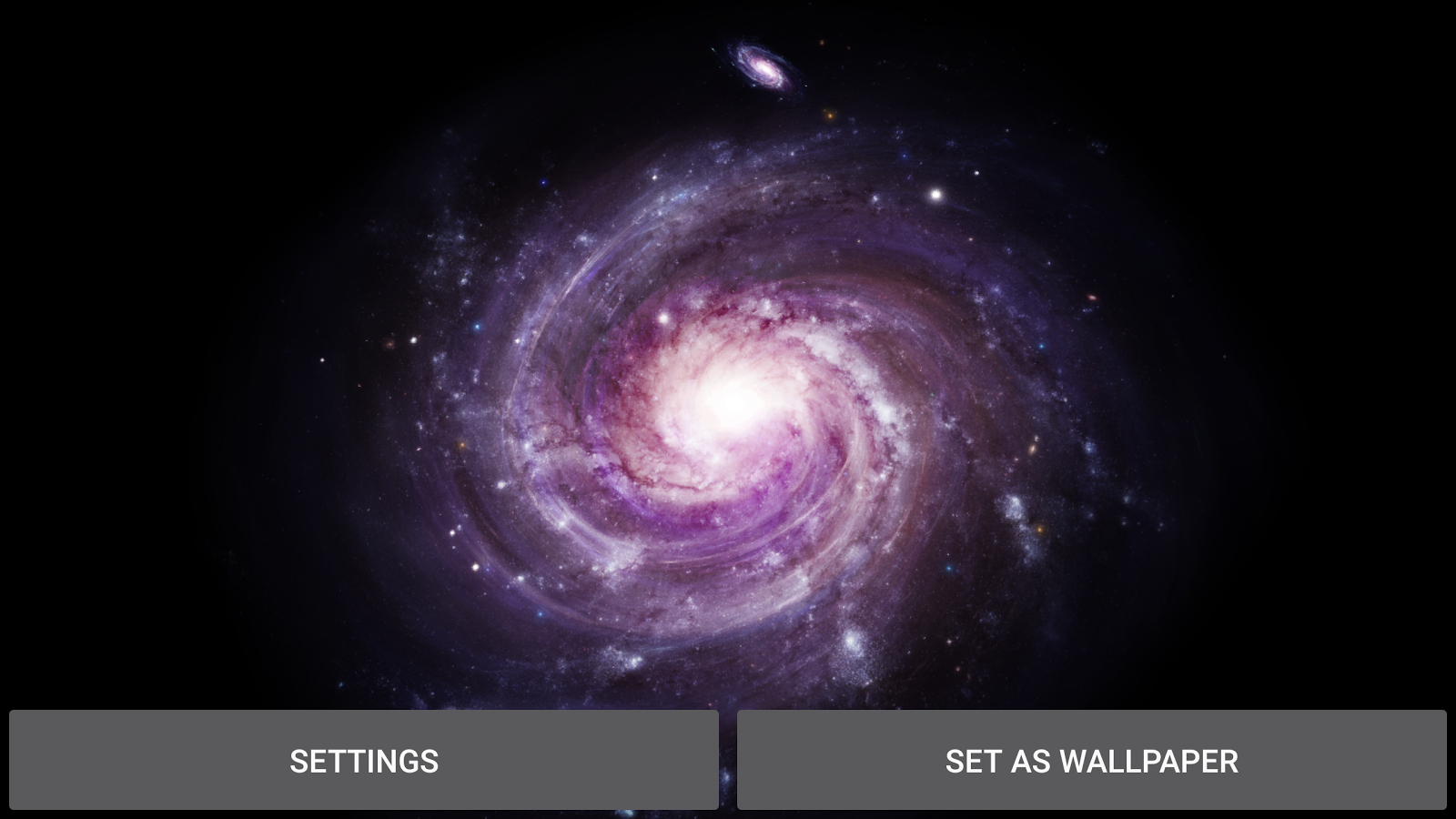 3D Galaxy Pack Live Wallpaper Screenshot 12