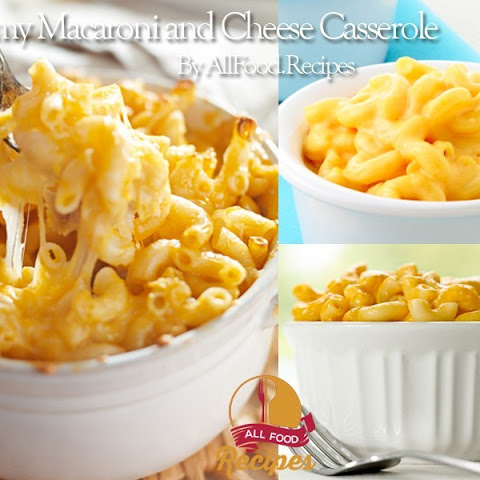 Baked Creamy Macaroni and Cheese Casserole