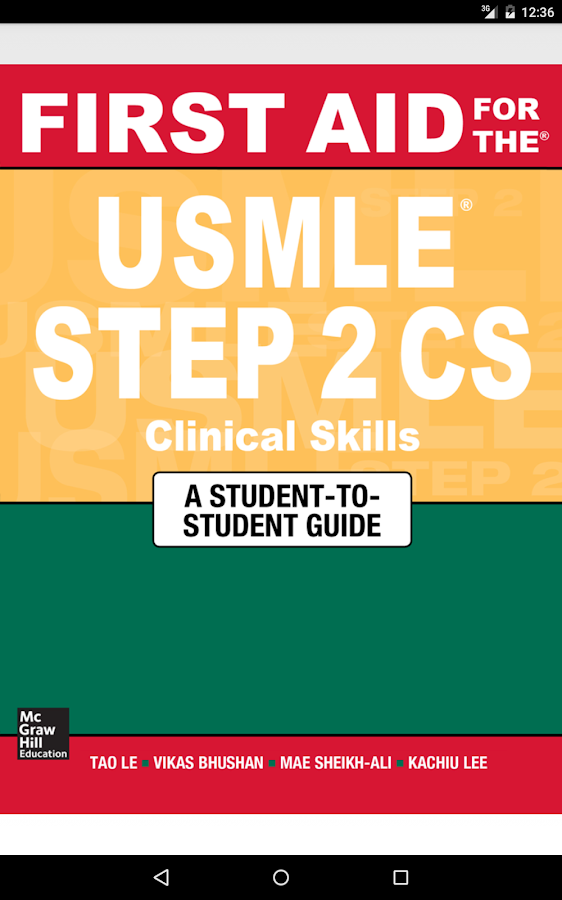 First Aid USMLE Step 2 CS 5/E Screenshot 16