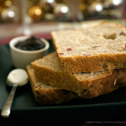 Cranberry Apple Walnut Yeast Bread