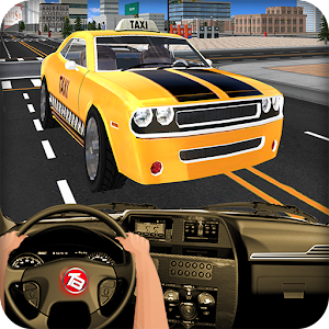 In Taxi Drive Simulation 2016 for Android