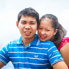 Happy Couple by Hanzel Lacida - People Couples ( love, prewedding, couple, esission, prenup )