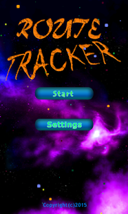 Route Tracker - screenshot