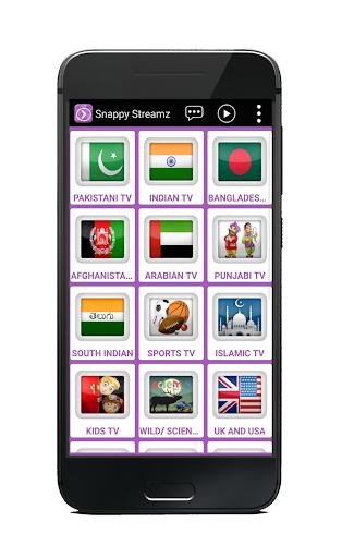 Snappy Streamz TV screenshot 2