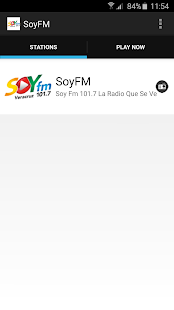SoyFM - screenshot
