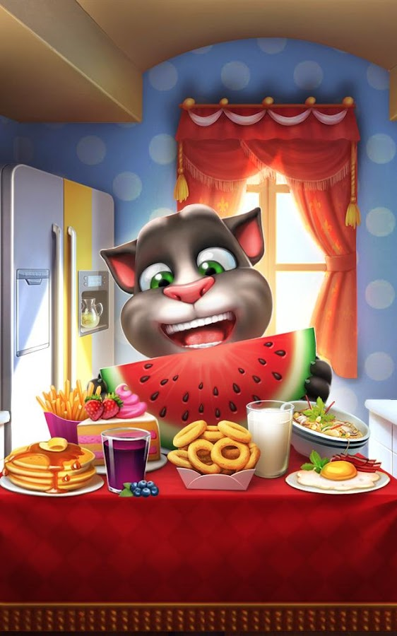Meu Talking Tom: captura de tela