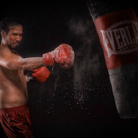 Practice make perfect by Indrawan Ekomurtomo - Sports & Fitness Boxing