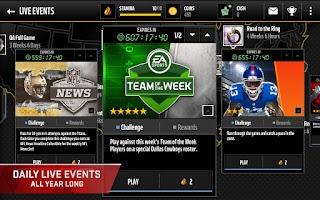Screenshot of Madden NFL Mobile