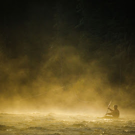 Into The Fog by Tyler Rickenbach - Sports & Fitness Watersports ( wyoming, bach photography, jackson hole, @bachphoto_, www.tylerbach.com, creative artists )