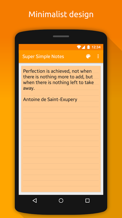 Notes (Super Simple Notes) Screenshot 1