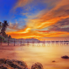 by Annisa Fitriani - Landscapes Sunsets & Sunrises ( nature, sunset, travel, sunrise, beach )