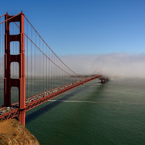 The Golden Gate by Craig Turner - Buildings & Architecture Bridges & Suspended Structures ( marin, fog, bridge, golden gate, san francisco,  )