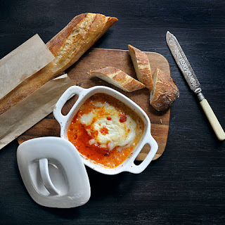 Baked Goat Cheese With Tomato Sauce Recipes