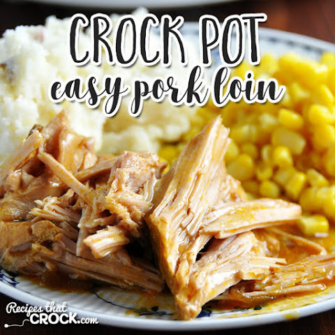 Easy Crock Pot Pork Loin