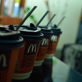 McCoffeez by Kreshna Lochun - Food & Drink Alcohol & Drinks ( midnight, mauritius, coffee, mcdonald, nikon d7000 )